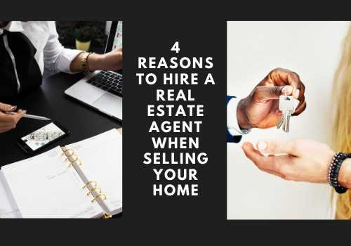 4 Reasons to Hire a Real Estate Agent When Selling Your Home in Waterloo, Ontario